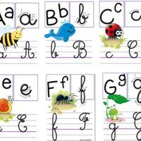 J'aime... l'affichage alphabet de crevette