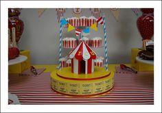Circus Theme Boys Birthday Party