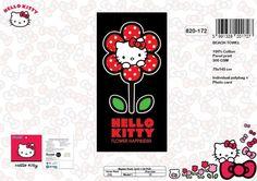 Drap de plage Hello Kitty ref 30