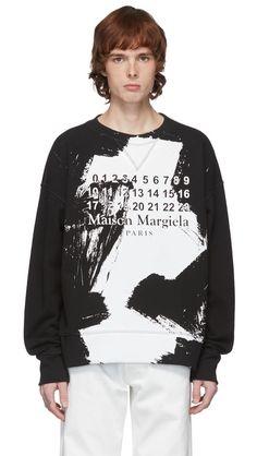 SSENSE Spring/Summer 2020 Sale | The Fashionisto Mens Sweatshirts, Hoodies, The Fashionisto, Black Star, Everyday Look, Rib Knit, Graphic Sweatshirt, Mens Fashion, Designer Sale