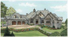 Donald A. Gardner Architects, Inc. The Heatherstone House Plan DDWEBDDDG-5016