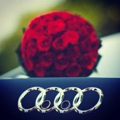 Audi, the wedding car. : Audi, the wedding car.