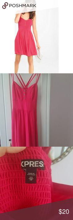 Express SUMMER DRESS 😍 This dress is unwon, very flattering. Express Dresses