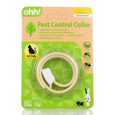 Natural Essential Oil Pest Control Collar Repel Flea FleaandTick Collar for Cats and Small Dogs -- Remarkable product available now. : Cat products