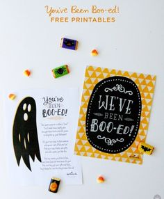 Share contributor Amy teaches us how to Boo! our neighborhoods, including boo-ed letters Halloween Boo, Holidays Halloween, Happy Halloween, Halloween Ideas, Halloween 2020, Halloween Dinner, Halloween Candy, Halloween Crafts, Youve Been Bood