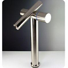 Fresca Trebia Nickel Bathroom Faucet | Overstock.com Shopping - Great Deals on Bathroom Faucets