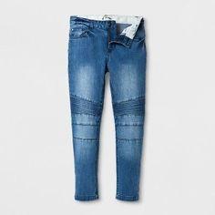 Boys' Moto Jeans - art class Blue Wash 12
