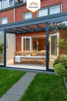 Outdoor Pergola, Outdoor Rooms, Backyard Patio, Backyard Landscaping, Outdoor Living, Cozy Patio, Shed Homes, Garden Seating, Architecture Plan