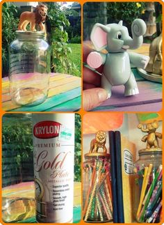 Mmm-Style BEFORE AND AFTER kids crafts turned diy project