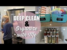 DEEP CLEAN & ORGANIZE WITH ME // CLEAN WITH ME 2018 // EXTREME CLEANING MOTIVATION // KITCHEN - YouTube