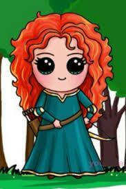 Resultado de imagem para princesas fofas de olho kawaii bonequinhas