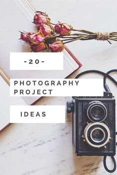 20 Photography Project Ideas for the New Year Looking for photography project ideas? Here are 20 photography project ideas for the new year to help you to get creative, document your everyday and improve your photography skills Photography Challenge, Photography Tips For Beginners, Photography Lessons, Photography Projects, Book Photography, Photography Business, Photography Tutorials, Creative Photography, Digital Photography