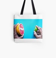 Cotton Tote Bags, Reusable Tote Bags, Printed, Fruit, My Love, Awesome, Stuff To Buy, Products, The Fruit
