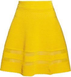 M Missoni Cotton-blend A-line skirt