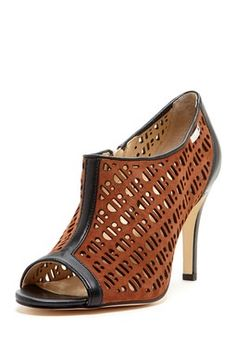 Kailani Suede/Nappa Cut-Out Heel