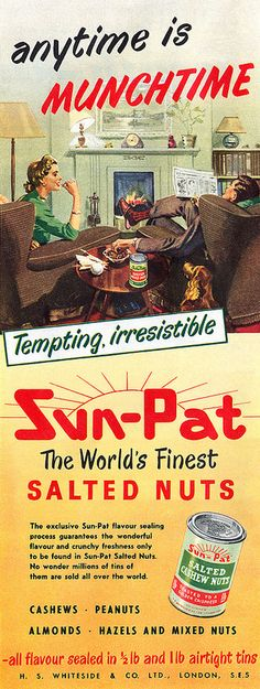1953 Sun-Pat Salted Nuts