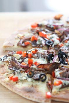 Buffalo & Blue Pizza | BHG Delish Dish