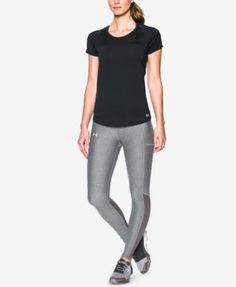 UNDER ARMOUR Under Armour Women S Fly By Cutout-Back Running Top.   underarmour   699e9b035e0