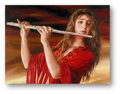 Symphony By Child Prodigy Artist Akiane Kramarik Painted age 15