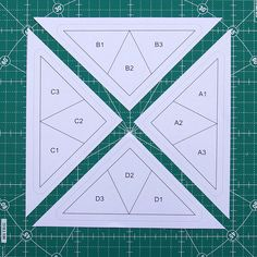 Foundation Paper Piecing Pattern for the Hummingbird Quilt Block - including the foundation papers FREE to download.