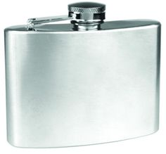 New 4 oz Stainless Steel Whiskey Liquor Hip Alcohol Flask & SS Filling Funnel