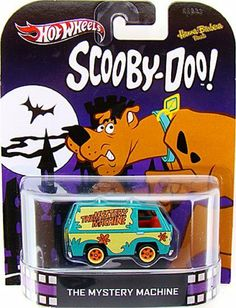 The Mystery Machine SCOOBY-DOO 2013 RETRO Hot Wheels 1:64 Scale Die Cast by Mattel. $11.95. 1:64 Scale Die Cast. Hot Wheels 2013 RETRO Assortment. HOT WHEELS® Pop Culture Assortment*: These vehicles are ready to drive off the big screen and into the hands of fans, collectors and kids everywhere. Some of the most popular and recognizable cars to ever have screen time are replicated in this line and provided in distinct movie-related packaging. Celebrate classic vehicle...