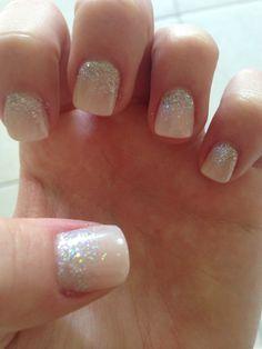Prom nails: short acrylic