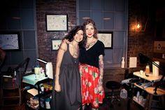 Pamela Love and Minka Sicklinger, Tattoo Parlor at Milk Studios, New York Fashion Week