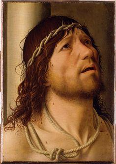 Antonello da Messina - Cristo alla colonna - Parigi, Louvre