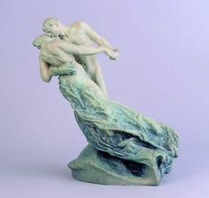 Camille Claudel, La Valse, 1895, first performed in Galerie de L'Art Nouveau from Bing, www.camille-claudel.nl