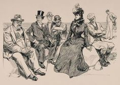 Fashion History - Edwardian Fashion Designs of Late 1890's - 1914