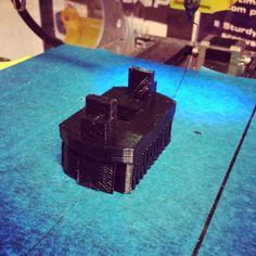 3D-malli tulostettuna