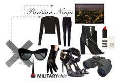 #Parisian Ninja. 2015. #Seduction in #Paris selection by summerocha.polyvore