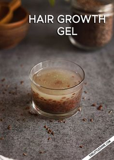 NATURAL HAIR GEL RECIPES FOR HAIR GROWTH AND TO STOP HAIR FALL - The Little Shine