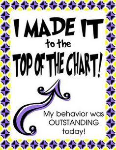 Clip Chart- Reward Freebies!