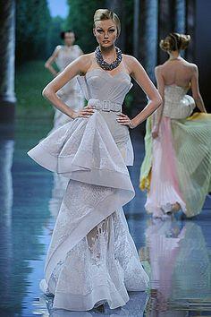 John Galliano Plays Peekaboo with Fall 2008 Dior Couture: artwork