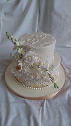 Wedding cake - Cake by Blacksun