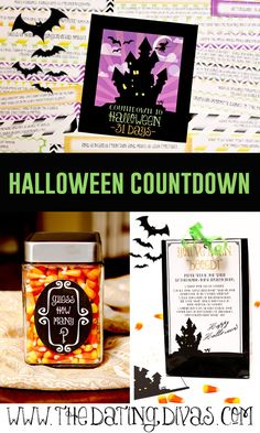 We LOVE Halloween in my house! A Halloween Countdown will be SO much FUN! www.TheDatingDivas.com