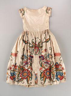 Lanvin, Silk evening dress, 1922.