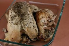 A Year of Slow Cooking: Herb Garden Chicken Slow Cooker Recipe
