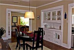 Silver Lake Craftsman has original dining room built ins