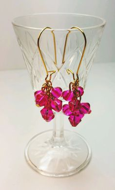 Chic Shock Pink Earrings
