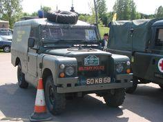 Land Rover 109 2.25 Petrol HVVPK 'piglet'