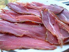 Meine Rezeptwelt: Rinderschinken selbstgemacht- Ev yapimi pastirma