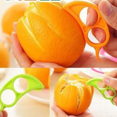 Kitchen Accessories Gadgets Cheap Peeler Orange Device Fruit Cooking Tools Orange Cutter 1pc