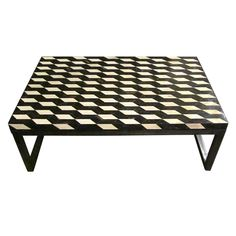 Faux Bone Coffee Table. India, modern design. http://www.1stdibs.com/furniture_item_detail.php?id=618011
