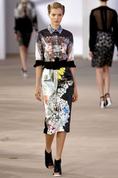 Preen by Thornton Bregazzi Spring 2012 Ready-to-Wear Fashion Show