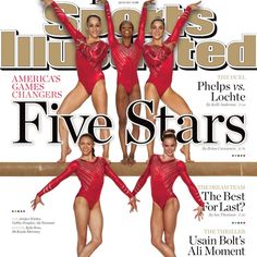 The Fab Five(:  Women Gymnastics.