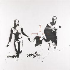 Family target - Banksy 2003