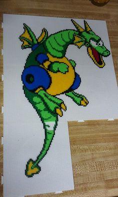 MM2 Mech Dragon hama  beads By N5omniac